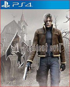 RESIDENT EVIL 4 PS4 PSN MIDIA DIGITAL