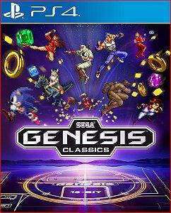 sega genesis classics ps4 midia digital