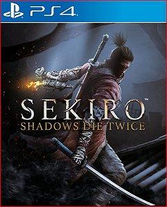 SEKIRO SHADOWS DIE TWICE PS4 PSN PORTUGUES MIDIA DIGITAL
