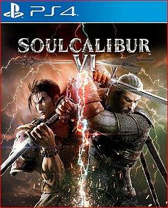 SOULCALIBUR VI PS4 PSN PORTUGUES MIDIA DIGITAL