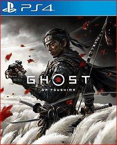Ghost of Tsushima PS4 Mídia Digital Português