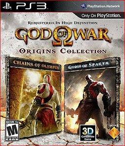 God of War: Origins Collection Ps3 - Mídia Digital