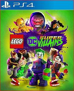 LEGO DC SUPER VILLAINS PS4 MÍDIA DIGITAL PORTUGUÊS