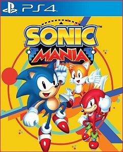 SONIC MANIA - PS4 PSN MIDIA DIGITAL