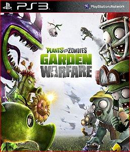 PLANTS VS ZOMBIES GARDEN WARFACE PS3 MIDIA DIGITAL