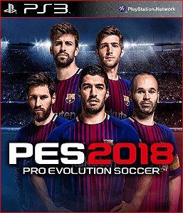 PES 2018 PT PS3 MÍDIA DIGITAL