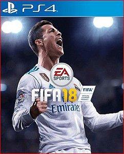 FIFA 18 PS4 PSN MÍDIA DIGITAL