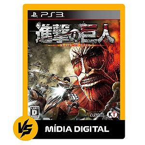 ATTACK ON TITAN / PS3 PSN [MÍDIA DIGITAL]