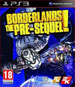 BORDERLANDS THE PRE-SEQUEL PS3 MÍDIA DIGITAL