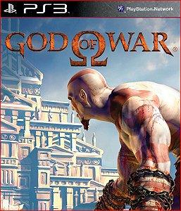 GOD OF WAR HD PS3 MÍDIA DIGITAL