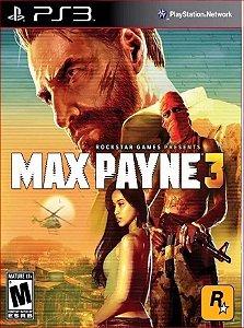 MAX PAYNE 3 PS3 MÍDIA DIGITAL