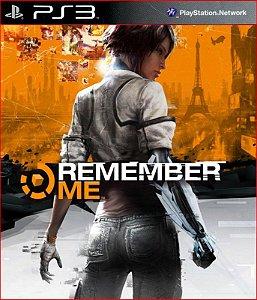REMEMBER ME PS3 MÍDIA DIGITAL