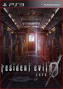 RESIDENT EVIL 0 PS3 MÍDIA DIGITAL