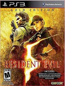 RESIDENT EVIL 5 GOLD EDITION PS3 MÍDIA DIGITAL