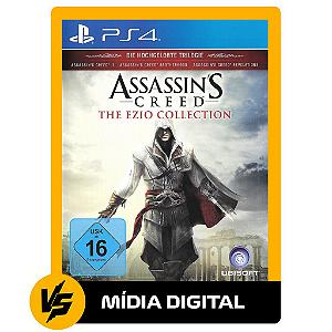 ASSASSIN'S CREED-THE EZIO COLLECTION / PS4 PSN [MÍDIA DIGITAL]
