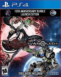 Bayonetta and Vanquish 10th Anniversary Launch Bundle ps4 midia digital