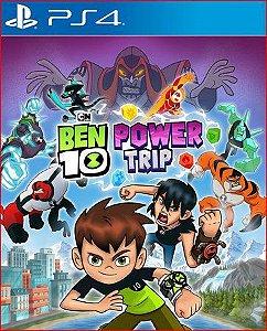 BEN 10 POWER TRIP PS4 PSN MÍDIA DIGITAL