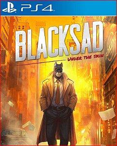 BLACKSAD UNDER THE SKIN PS4 PSN MÍDIA DIGITAL