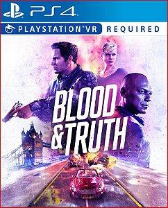 BLOOD AND TRUTH PS4 PSN MÍDIA DIGITAL