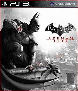 BATMAN ARKHAM CITY PS3 PSN MÍDIA DIGITAL