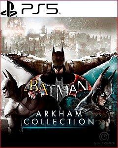 batman arkham collection ps5 psn midia digital