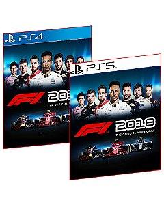 F1 2018 PS4 E PS5 MÍDIA DIGITAL PSN