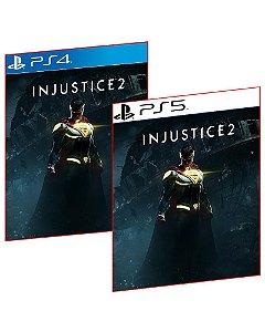 INJUSTICE 2 PS4 E PS5 MÍDIA DIGITAL PSN