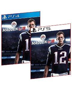 MADDEN NFL 18 PS4 E PS5 MÍDIA DIGITAL PSN