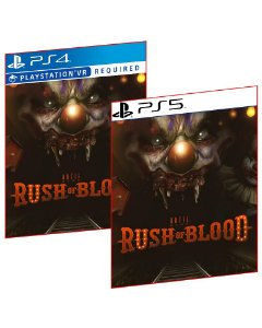 UNTIL DAWN RUSH OF BLOOD PS4 E PS5 MÍDIA DIGITAL PSN