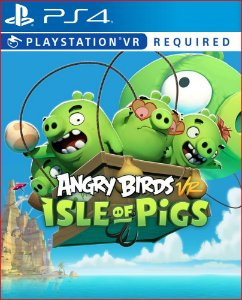 angry birds vr isle of pigs ps4 midia digital