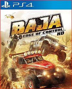 BAJA EDGE OF CONTROL HD PS4 MÍDIA DIGITAL