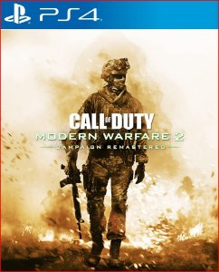 CALL OF DUTY MODERN WARFARE 2 CAMPAIGN REMASTERED PS4 MÍDIA DIGITAL