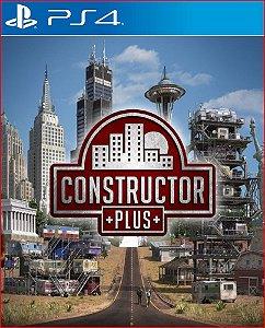 CONSTRUCTOR PLUS PS4 MÍDIA DIGITAL