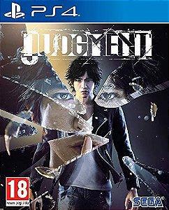 judgment ps4 midia digital