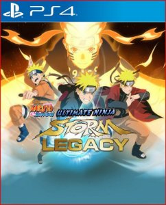 naruto shippuden ultimate ninja storm legacy ps4 midia digital
