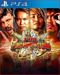 fire pro wrestling world ps4 mídia digital psn