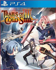 The legend of heroes trails of cold steel III PS4 psn MÍDIA DIGITAL
