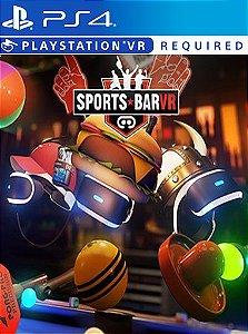 SPORTS BAR VR PS4 MIDIA DIGITAL