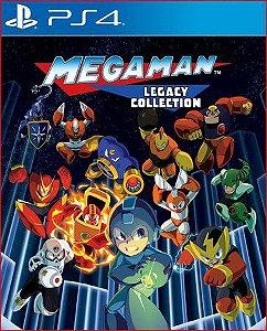 Mega Man X Legacy Collection PS4 Mídia Digital PSN