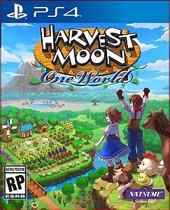 HARVEST MOON ONE WORLD PS4 MIDIA DIGITAL