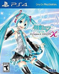 HATSUNE MIKU PROJECT DIVA X PS4 MIDIA DIGITAL