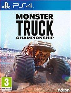 MONSTER TRUCK CHAMPIONSHIP PS4 MÍDIA DIGITAL
