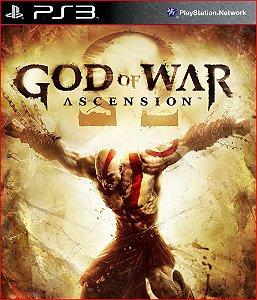 GOD OF WAR: ASCENSION PS3 PSN MÍDIA DIGITAL