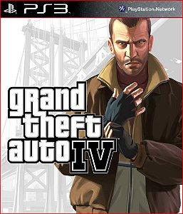 GRAND THEFT AUTO IV PS3 PSN MÍDIA DIGITAL