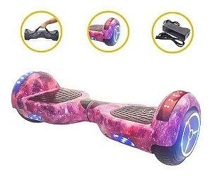 Hoverboard Roda Com Led + Bolsa Bluetooth