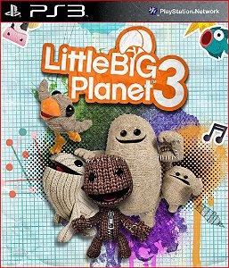 LITTLEBIGPLANET 3 PS3 PSN MÍDIA DIGITAL