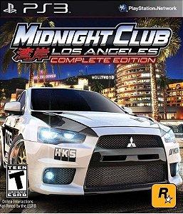 Midnight Club Los Angeles Complete Edition PS3 Mídia Digital