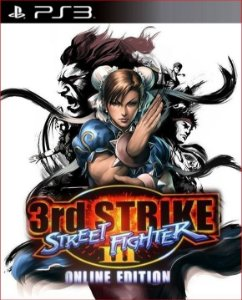 STREET FIGHTER 3 THIRD STRIKE PS3 PSN MÍDIA DIGITAL