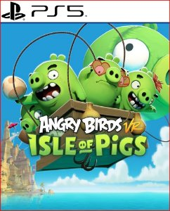 angry birds vr: isle of pigs ps5 midia digital