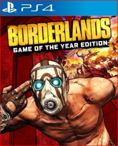 Borderlands: Game of the Year Edition ps4 mídia digital